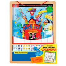 My School Wooden Magnetic Calendar | T.S. Shure