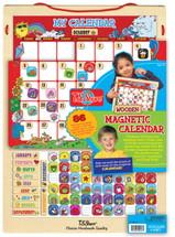 Wooden Magnetic Calendar | T.S. Shure
