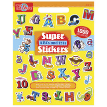 ABC & 123 Super Stickers Book | T.S. Shure