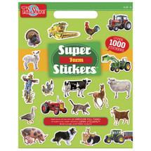 Farm Super Stickers Book | T.S. Shure