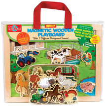 Farm Animals, Horses, and Vehicles Wooden Magnetic Playboard Set | T.S. Shure