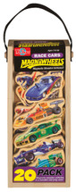 Race Cars Wooden Magnets - 20 Piece MagnaFun Set | T.S. Shure