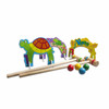 Wooden Indoor & Outdoor Croquet Set | T.S. Shure