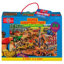 Construction Site Jumbo Floor Puzzle | T.S. Shure