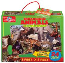 Endangered Animals Jumbo Floor Puzzle | T.S. Shure
