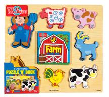Chunky WorldÇ__¶_¶œÇ_¶½ Farm Puzzy BookÇ__¶_¶œÇ_¶½ | T.S. Shure