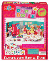 Dress & Stick Paper Dolls Kit | T.S. Shure