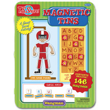 Hangman Game Magnetic Tin Playset | T.S. Shure
