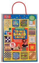 Magnetic Travel Board Games in a Travel Bag - 14 Games | T.S. Shure