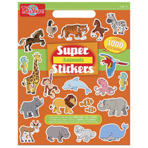 Animal Super Stickers Book | T.S. Shure