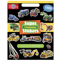 Construction Super Stickers | T.S. Shure