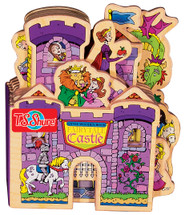 Fairytale Castle Wooden Storybook   T.S. Shure