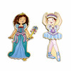 Princess & Ballerina Wooden Magnetic Dress-Up Dolls | T.S. Shure