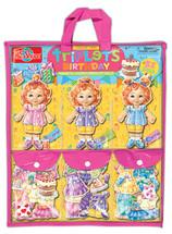 Teeny Tiny Triplets Birthday Party Dress-Up Dolls | T.S. Shure