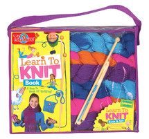 Learn to Knit Set & Book | T.S. Shure