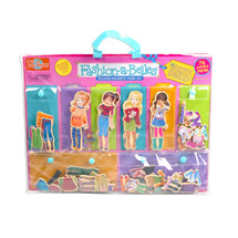 Fashion-A-Belles Mini Wooden Magnetic Dress-Up Dolls | T.S. Shure