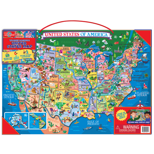 Colorful Map Of The United States Map Usa States And Cities 9