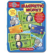 Pretend Play Money Magnetic Tin Play Set | T.S. Shure