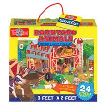 Barnyard Animals Jumbo Floor Puzzle | T.S. Shure