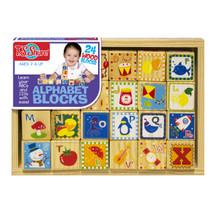Alphabet Cutesie Wooden Blocks   T.S. Shure
