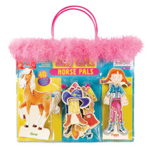 Daisy Girls Horse Pals Wooden Magnetic Dress-Up Set   T.S. Shure