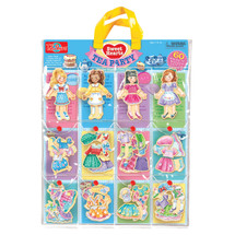 Sweets Hearts Tea Party Wooden Magnetic Dress-Up Dolls   T.S. Shure