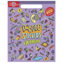 Doodle Extreme Sticker Book | T.S. Shure