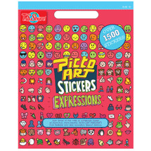 Picto Art Expressions Talk Sticker Book | T.S. Shure