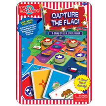 Capture The Flag Magnetic Game Tin | T.S. Shure