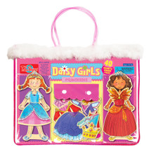 Daisy Girls Princesses Wooden Magnetic Dress-up Dolls | T.S. Shure