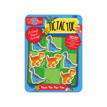 Tic Tac Toe Dinosaur Magnetic Game Mini Tin | T.S. Shure