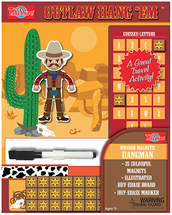 HangÇ___Ç®¶_Ç__Ç_¶¸EmÇ___Ç®¶Ç®¶œÇ__Ç®¶½ Outlaw Wooden Magnetic Hangman Game | T.S. Shure