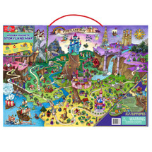 Wooden Magnetic Storyland Map & Puzzle | T.S. Shure