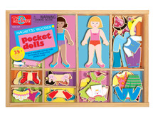 Pocket Dolls: Dress Up Fun! Wooden Magnetic Dress-Ups | T.S. Shure