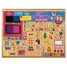 Expressions Wooden Stamp Set | T.S. Shure