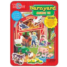 Barnyard Friends Magnetic Tin Playset   T.S. Shure