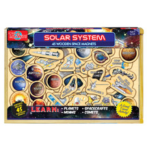 Solar System: 45 Wooden Trivia Magnets | T.S. Shure