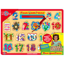 Learn To Count Magic Wand Wooden Magnetic Puzzle | T.S. Shure