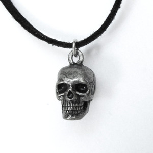 human skull necklace