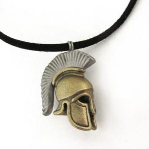 Greek Hoplite Helmet necklace