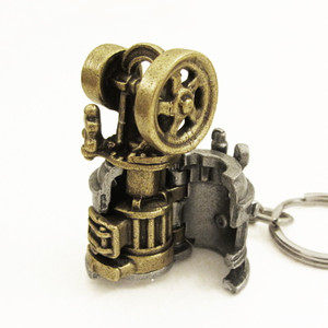 baxter steam engine keychain