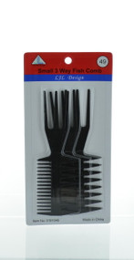 Small 3 Way Fish Comb (Dozen)