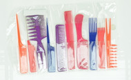 Assorted Combs 10pc Set (Dozen)