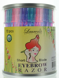 Eyebrow Blade - Short Blade (72pcs/Can)