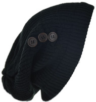 Button Knit Cap (Pc)