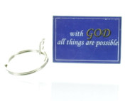 With God Keychain( Dozen)