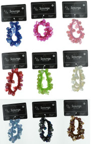 Design Hair Scrunchy 65 (Dozen)