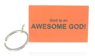 Awesome God! Keychain (Dozen)