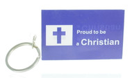 Proud To Be a Christian Keychain (Dozen)