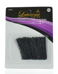 "1.75"" Black Hair Pins (Dozen)"